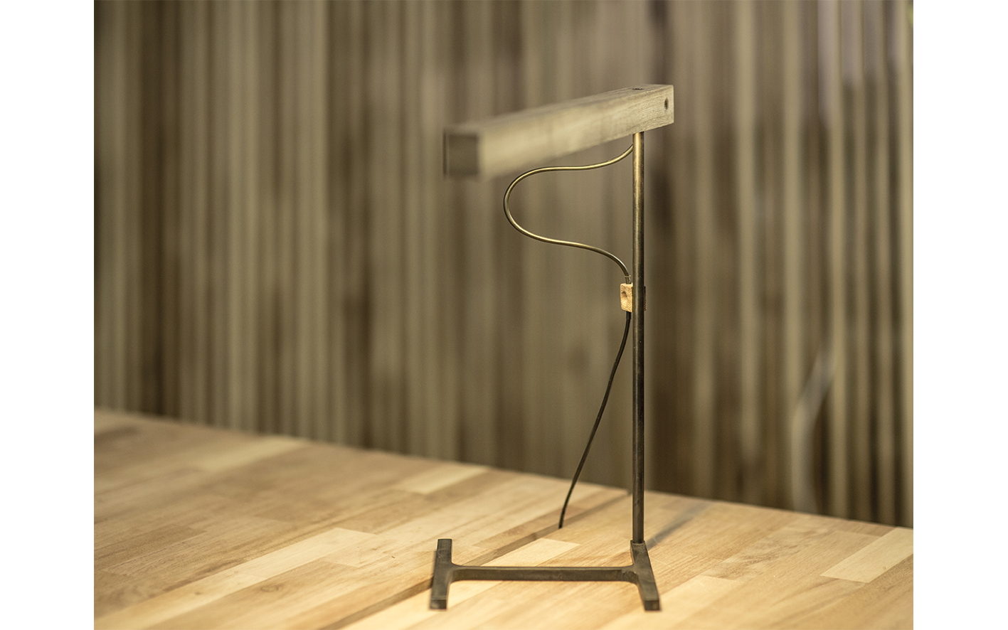 lamp iron grey